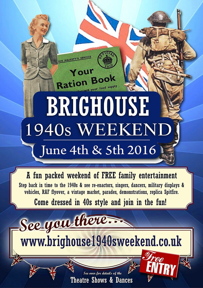 40s weekend flyer2016Front